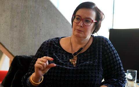 Interior Minister Katri Raik (SDE).