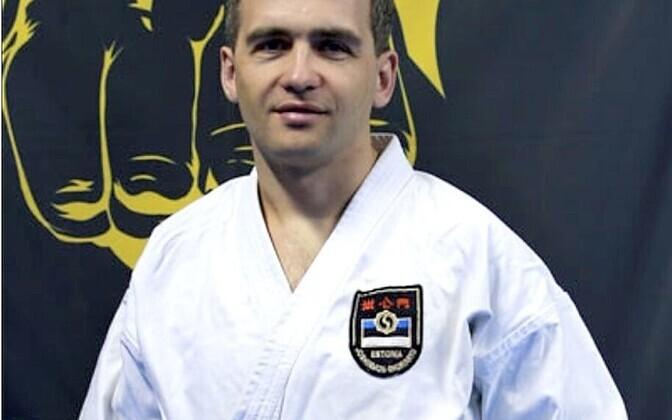 Евгений Быков - каратист и тренер клуба