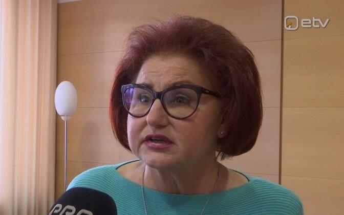 Kohtla-Järve linnapea Ljudmila Jantšenko.