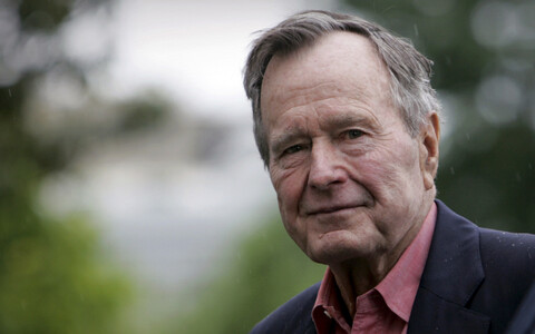 George H.W. Bush, 41st President of the US.