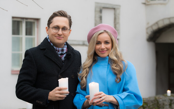Anna and Kristjan Pihl hosted this year's edition of Jõulutunnel, which aired on Christmas Day.
