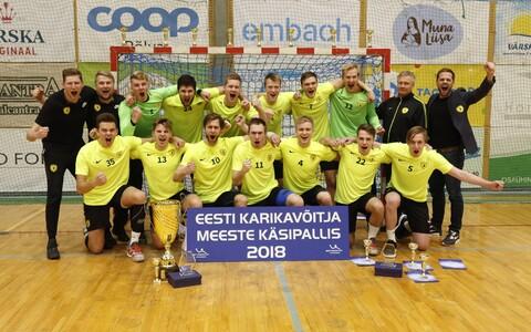 Eesti käsipalli karikavõistlustel võidutsenud HC Tallinn