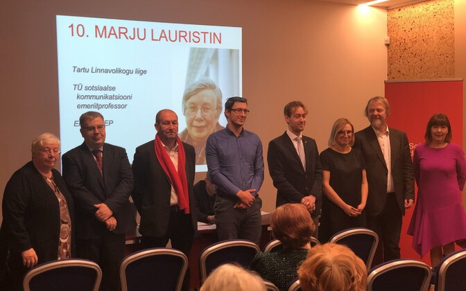 The Social Democrats' leading candidates in Tartu.