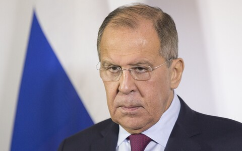 Russian foreign minister Sergei Lavrov. Mr Lavrov has  rejected US President Donald Trump's cancellation of a meeting with Russian counterpart Vladimir Putin at the G20 summit in Buenos Aires, following the Kerch Strait incident, as part of a conspiracy.
