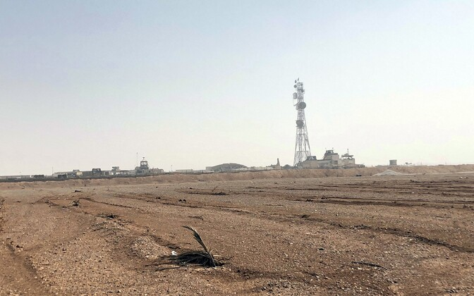 USA ja Briti sõjaväe tugikoht al-Tanfis Süürias.