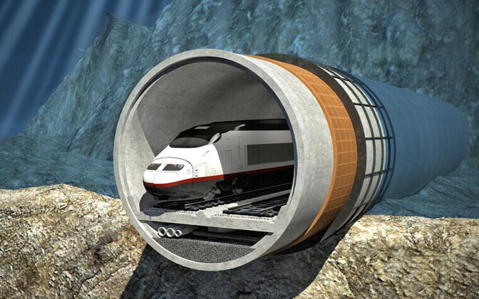 Vesterbacka Finest Bay Area tunnelikavandi pilt arendaja kodulehel.