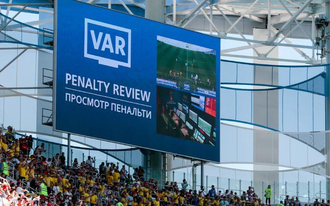 Videokohtunike süsteemi ehk VAR-i kasutati edukalt tänavusel MM-il.