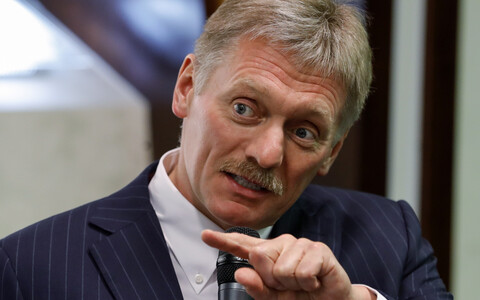 Kremlin press spokesman, Dmitry Peskov.