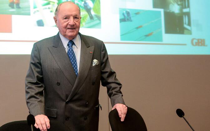 Belgia suurettevõtja Albert Frère (1926-2018).