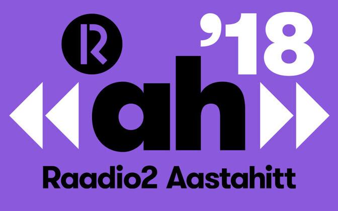 Aastahitt 2018 logo lilla
