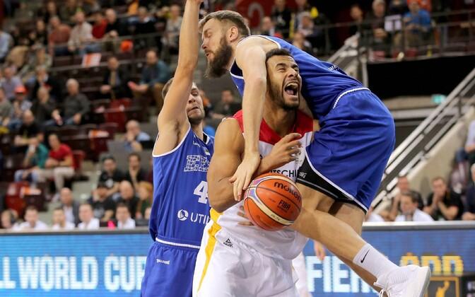 Оставить сборную Германии у эстонских баскетболистов не получилось.