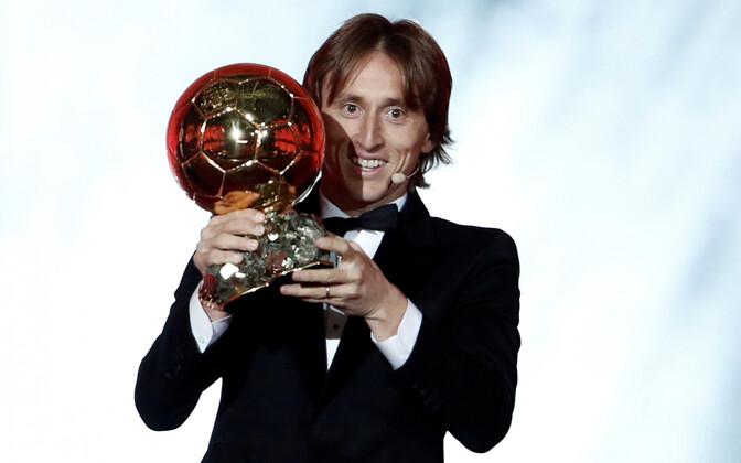 Модрич стал первым футболистом из Хорватии, получившим