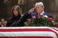 Похороны Джорджа Буша.
