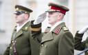 Церемония передачи командования Силами обороны.