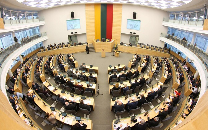 Leedu parlamendi saal.