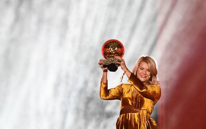 Ada Stolsmo Hegerberg Ballon d'Or'iga