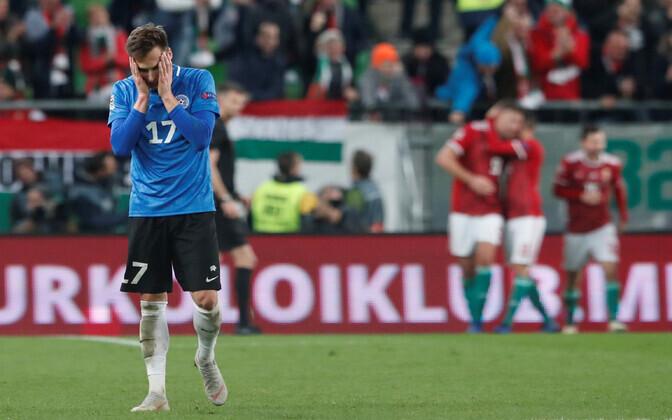 Eesti jalgpallikoondise jaoks pole 2018. aasta kuigivõrd rõõmustav olnud