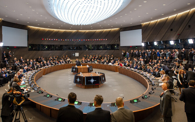 NATO foreign affairs ministers met in Brussels on Tuesday. 4 December 2018.