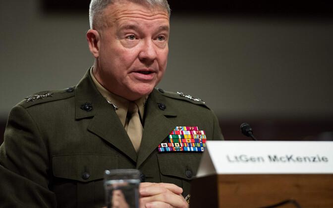 USA merejalaväe kindralleitnant Kenneth McKenzie.