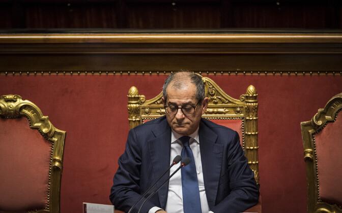 Itaalia majandus- ja rahandusminister Giovanni Tria.