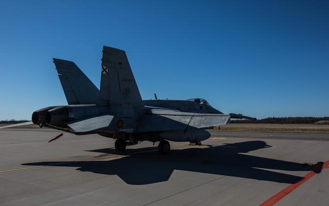 Истребитель ВВС Испании.