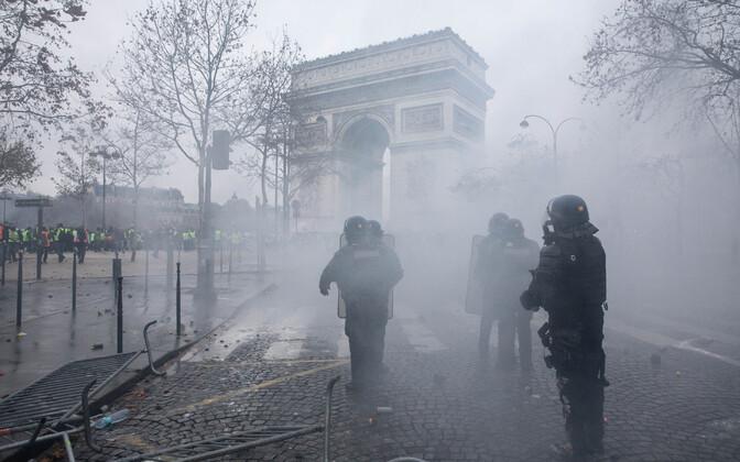 Rahutused Pariisis 1. detsembril.