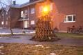 Конкурс на лучшую елку в военном городке в Тапа.