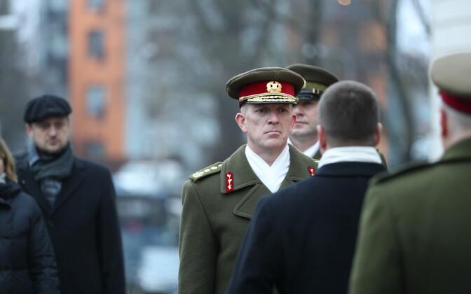 Мартин Херем стал командующим Силами обороны 4 декабря 2018 года.