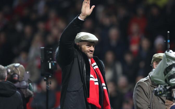 Tyson Fury Manchester Unitedi kodumängul