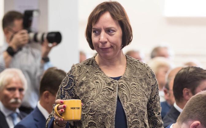 Haridus- ja teadusminister Mailis Reps.