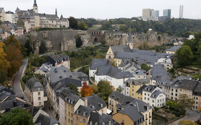 Город Люксембург, столица Люксембурга.