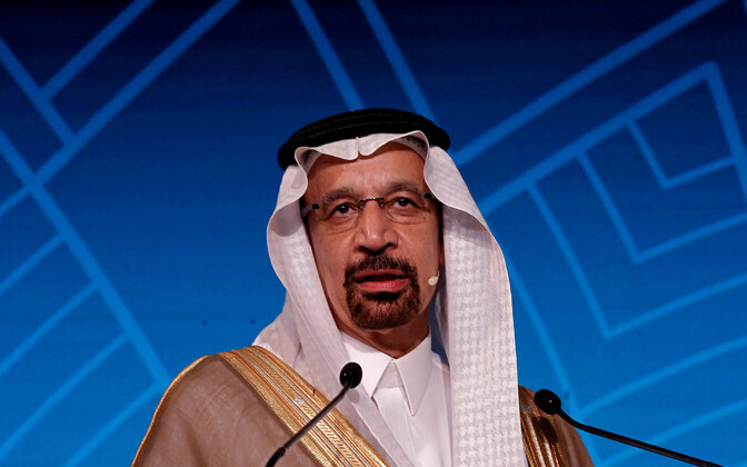 Saudi Araabia energiaminister Khalid al-Falih.