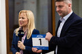 TV10 Olümpiastarti 48. hooaja esitluse pressikonverents.