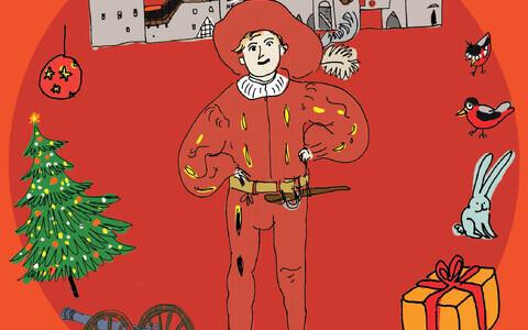 """Muuseumimäng """"Üle linna jõulud!""""."""