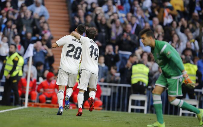 Marco Asensio ja Alvaro Odriozola (Madridi Real)