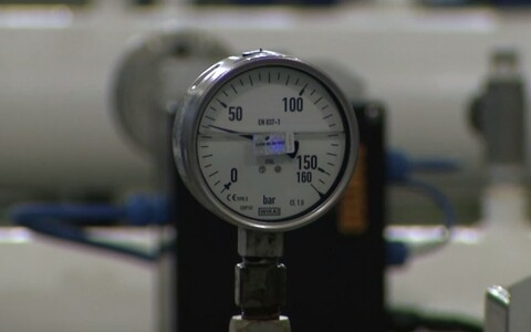 Gas meter (picture is illustrative).