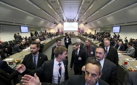 Встреча ОПЕК в Вене.