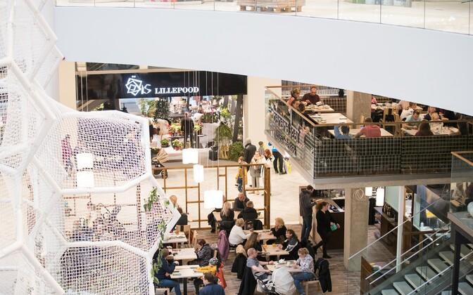 Üks enim töökäsi ootavaid valdkondi on kaubandus. Pildil hiljuti Tallinnas avatud kaubanduskeskus T!