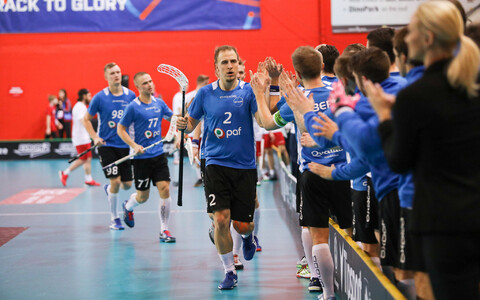 Eesti tähistab väravat
