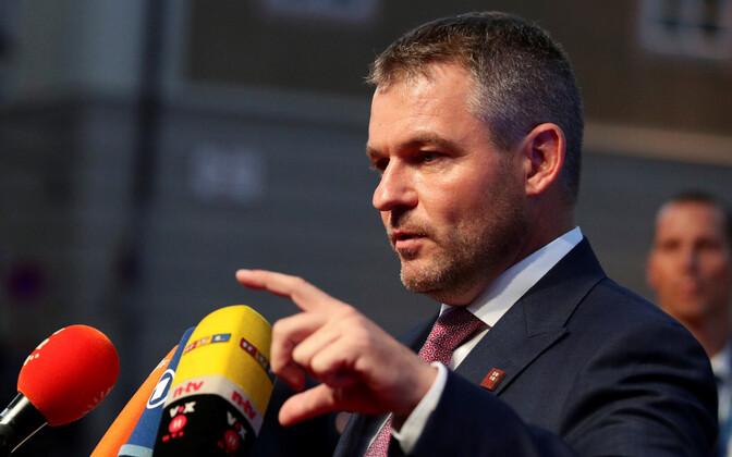 Slovakkia peaminister Peter Pellegrini.