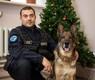 Полицейский Алар и служебный пес Рико.