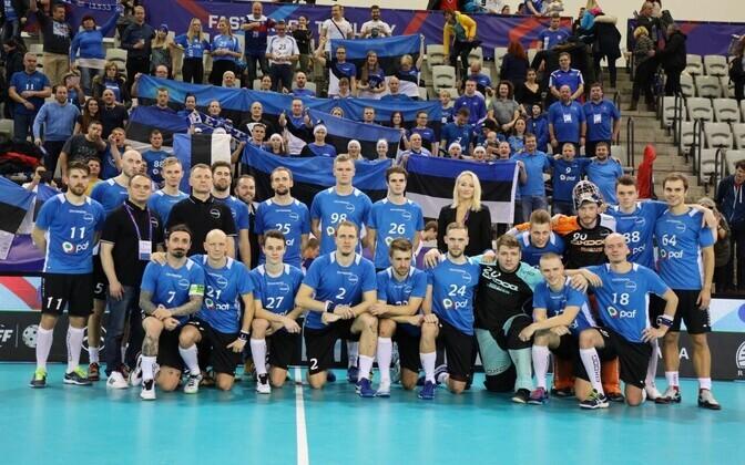 Eesti meeste saalihokikoondis MM-il