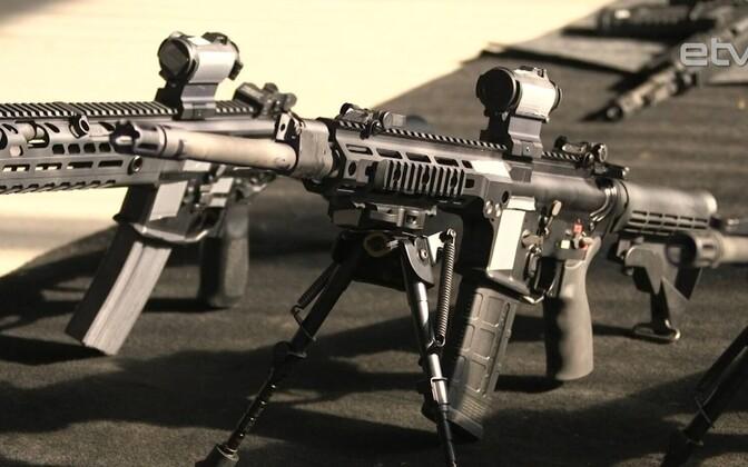 Новое стрелковое оружие Сио обороны - автоматы американской фирмы Lewis