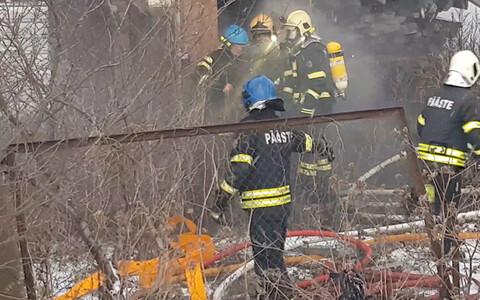 Пожар в Нарве