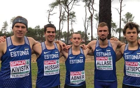 Eesti sportlased murdmaajooksu EM-il