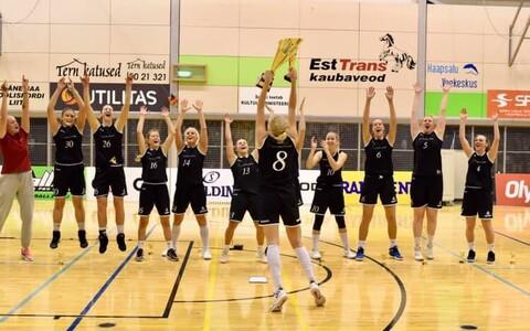 Tallinna Ülikooli korvpallinaiskond tuli karikavõitjaks