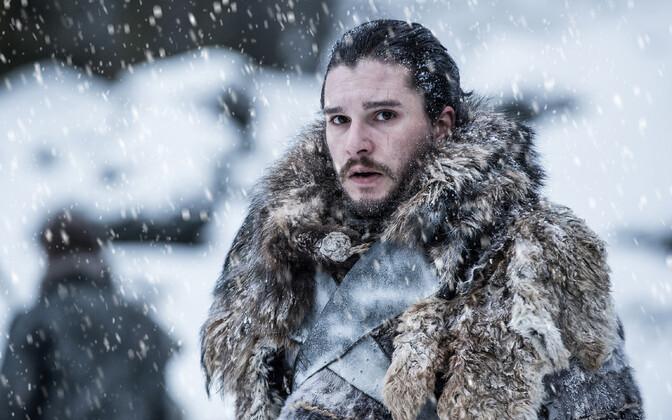 Sarja üks peaosalisi Kit Harington ehk Jon Snow.