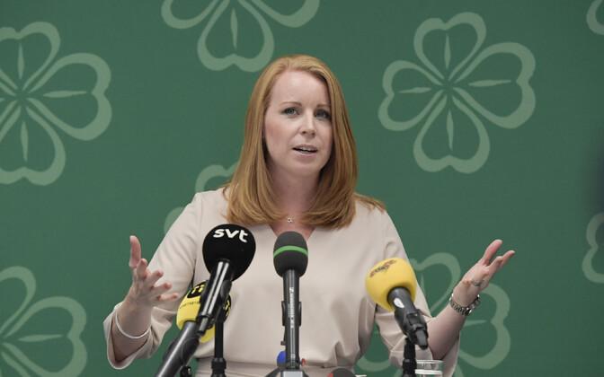 Rootsi Keskpartei juht Annie Lööf.