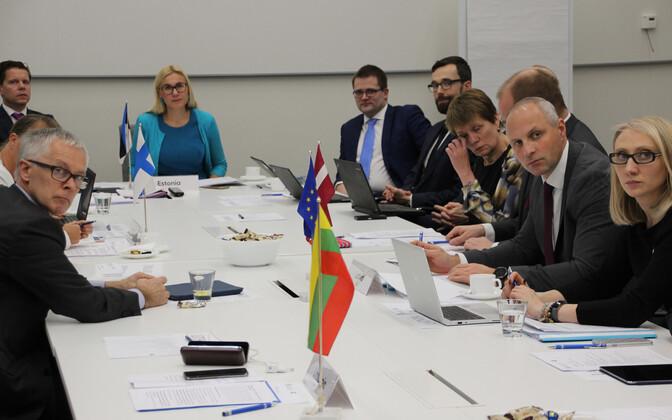 Balti riikide, Soome ja Poola transpordiministeeriumide esindajate kohtumine Tallinnas