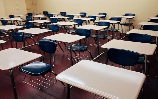 Школьный класс. Иллюстративное фото.
